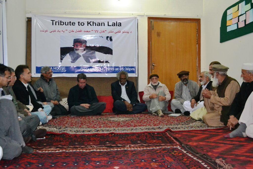 December 17, 2015 Tribute to Khan Lala